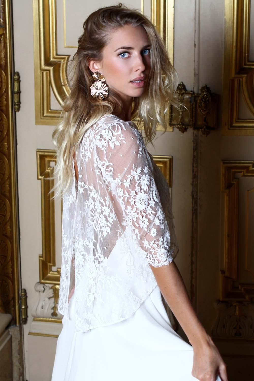 Robe de mariée moderne Lenny créatrice Paris