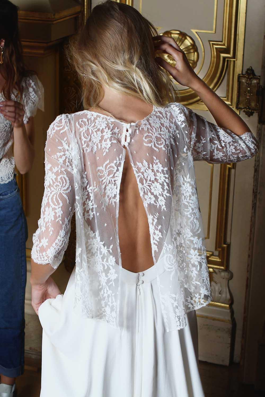 Robe de mariée bohème paris