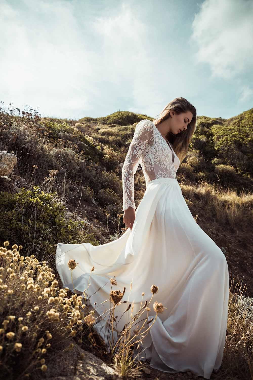 robe de mariée en deux parties lyon createur robe de mariee paris