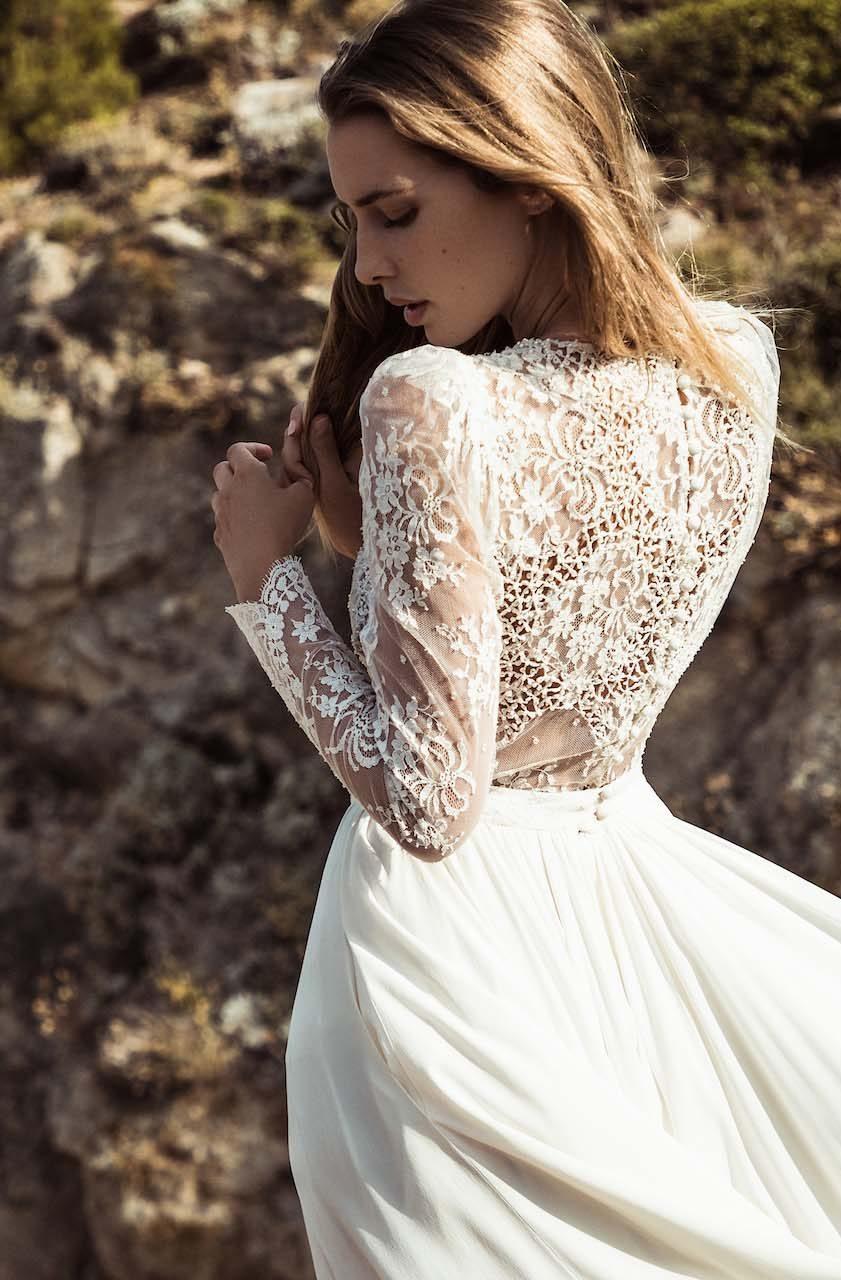 robe de mariage paris boutique d'articles de mariage lyon créatrice de robes pour mariées moderne
