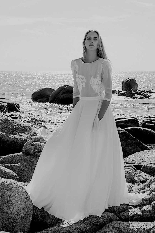 robe de mariee lyon en dentelle creatrice de robe de mariee paris