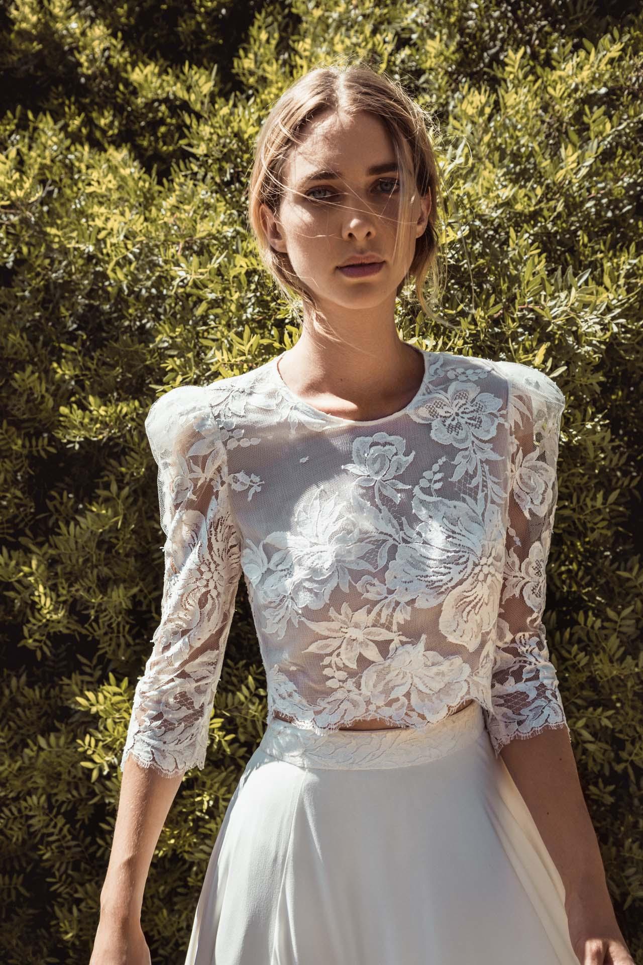 Robe de mariée paris Caroline Takvorian