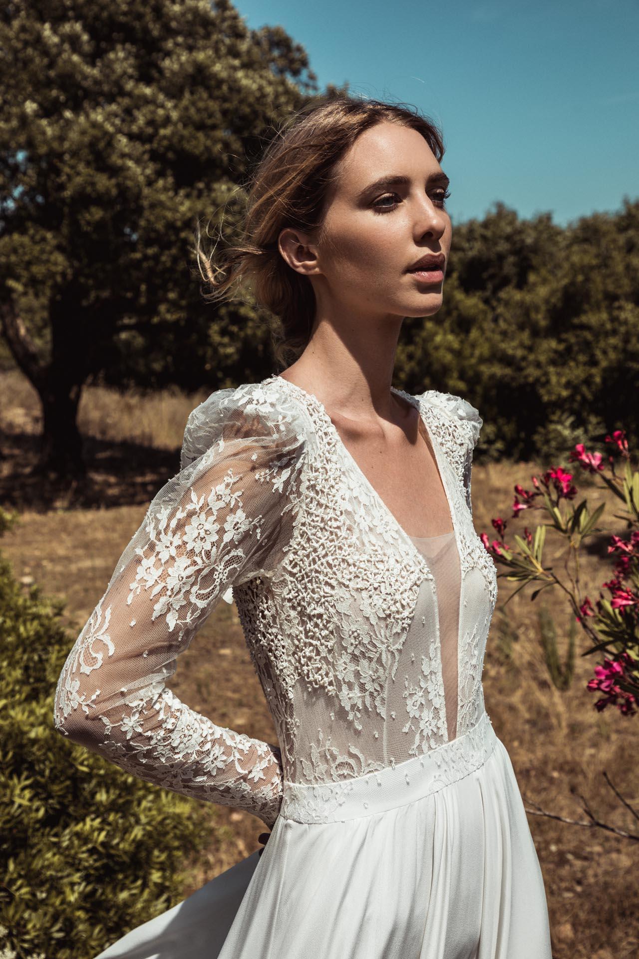robe de mariee fluide créatrice robe de mariée